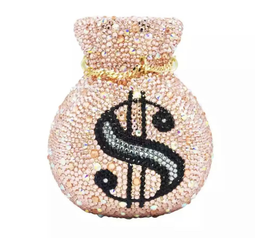 Image of CRYSYAL MONEY POUCH
