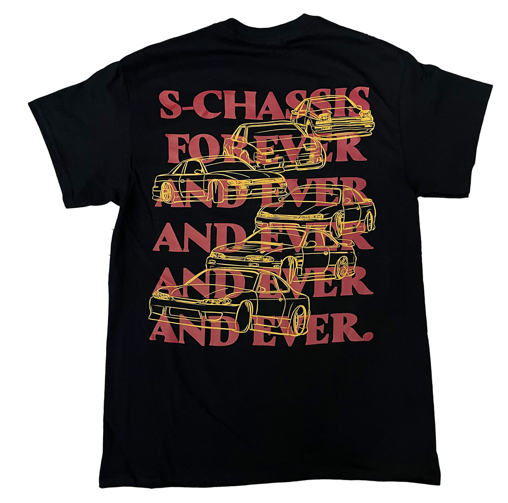 Image of S-Chassis Forever and Ever and Ever Tee