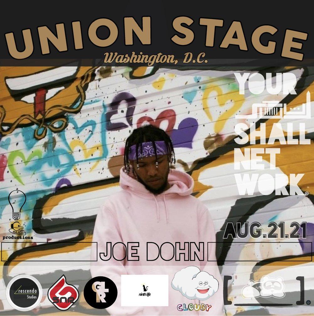 Image of Joe Dohn   Union Stage August 21st