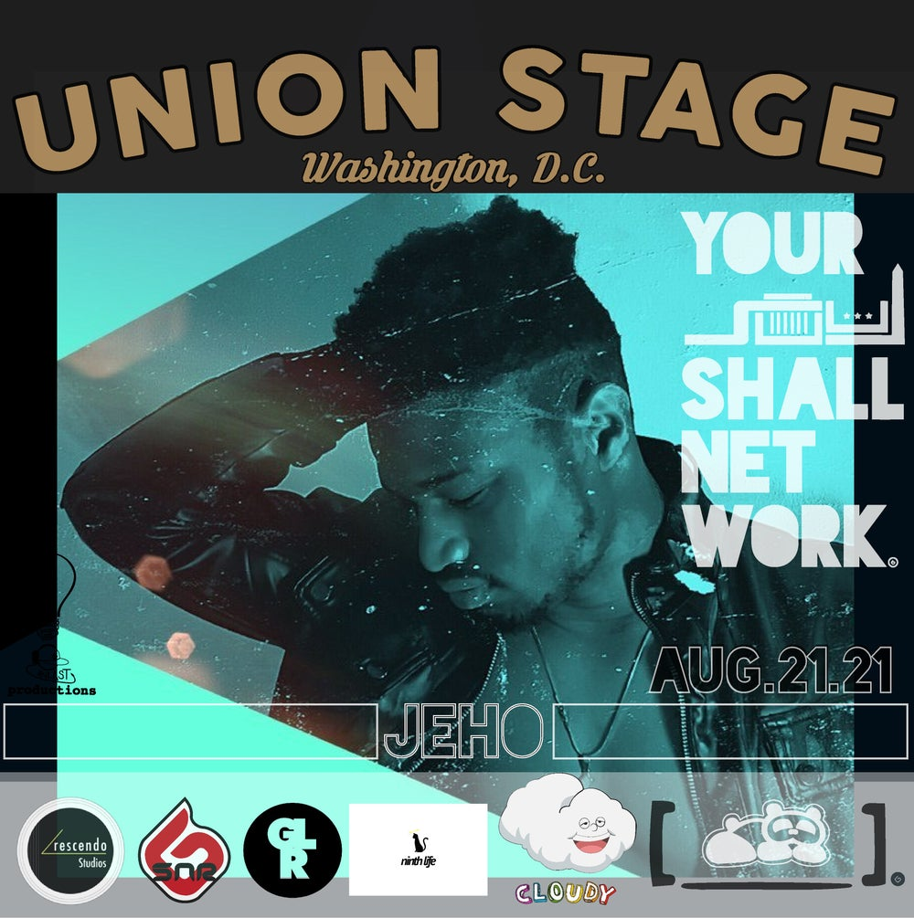 Image of Jeho   Union Stage August 21st