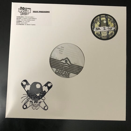 Image of TEST PRESSING - The New Seditionaries