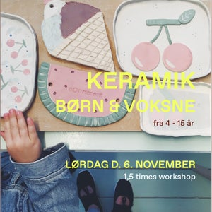 Image of Workshop for Kids and Adults // NOVEMBER
