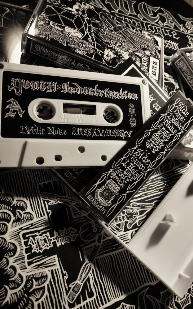 Image of YOUTH INDOCTRINATION: DEATH AS IT IS Cassette with Zine