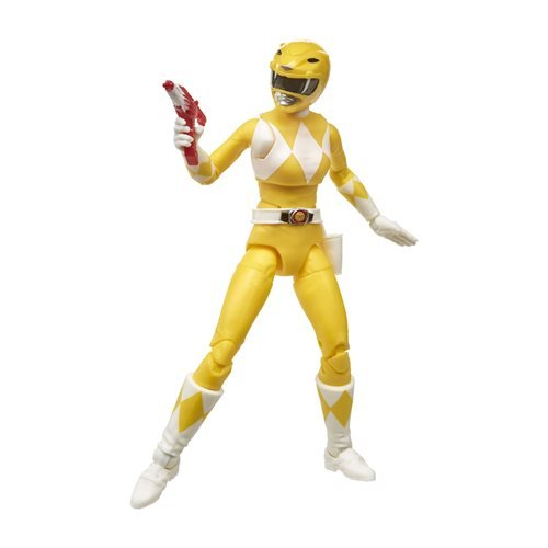 Image of 6-Inch Power Rangers Lightning Collection Mighty Morphin Yellow Ranger Figure
