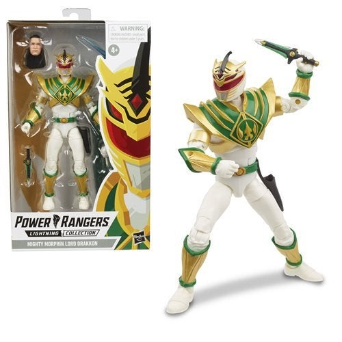 Image of Power Rangers Lightning Collection Mighty Morphin Power Rangers Lord Drakkon 6-Inch Action Figure