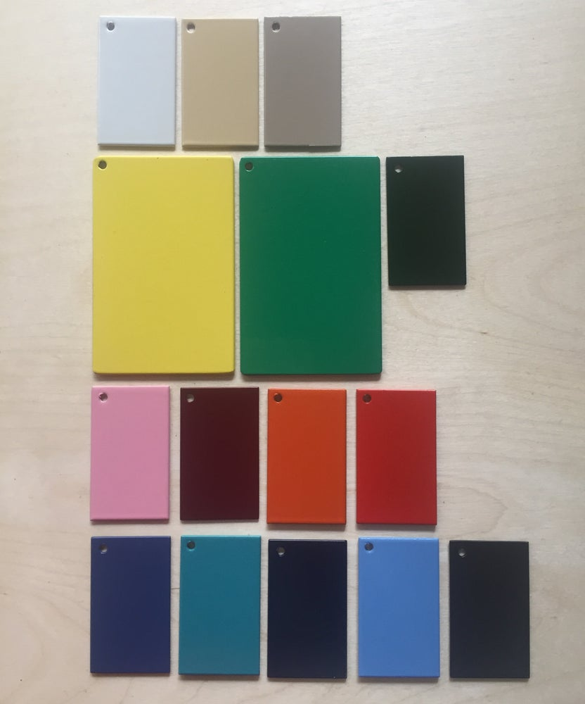 Image of Colour samples