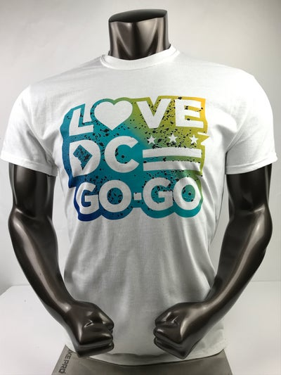 Image of Love DC GoGo - ...the Water T-shirt (4b3)