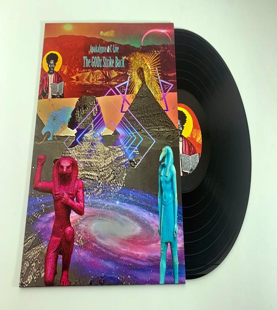 "Image of The GODz Strike Back -  ""Limited Edition 12"" Vinyl."""