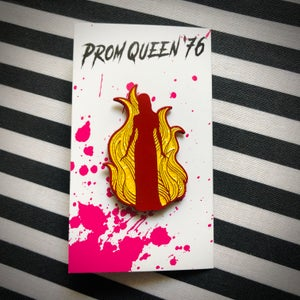 Image of PROM QUEEN '76 Enamel Pin