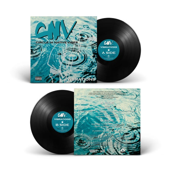 Image of Circle Of Native Vibes - Vibrations LP  (PRE ORDER NOW) (SOLD OUT)