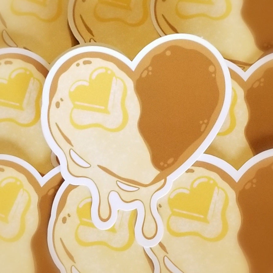 Image of Heart of a Balanced Breakfast Stickers