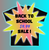 Back to Schoole Sale