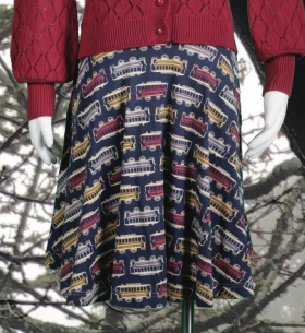 Image of Carnaby Skirt in Trolley