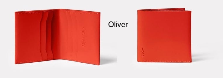 Image of Ally Capellino Wallets (in Black and Tomato)