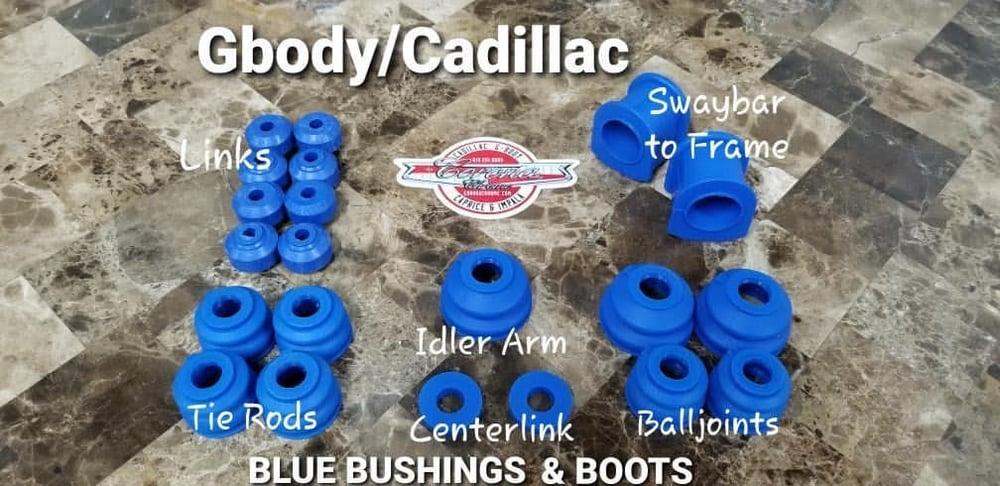 Image of GBODY / CADILLAC ROYAL BLUE BUSHING & BOOTS