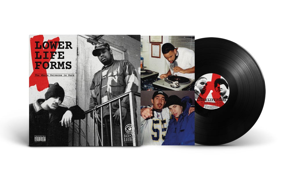 Image of Lower Life Forms - The Whole Universe Is Ours  LP Album (1997/2021) PRE ORDER NOW (SOLD OUT)