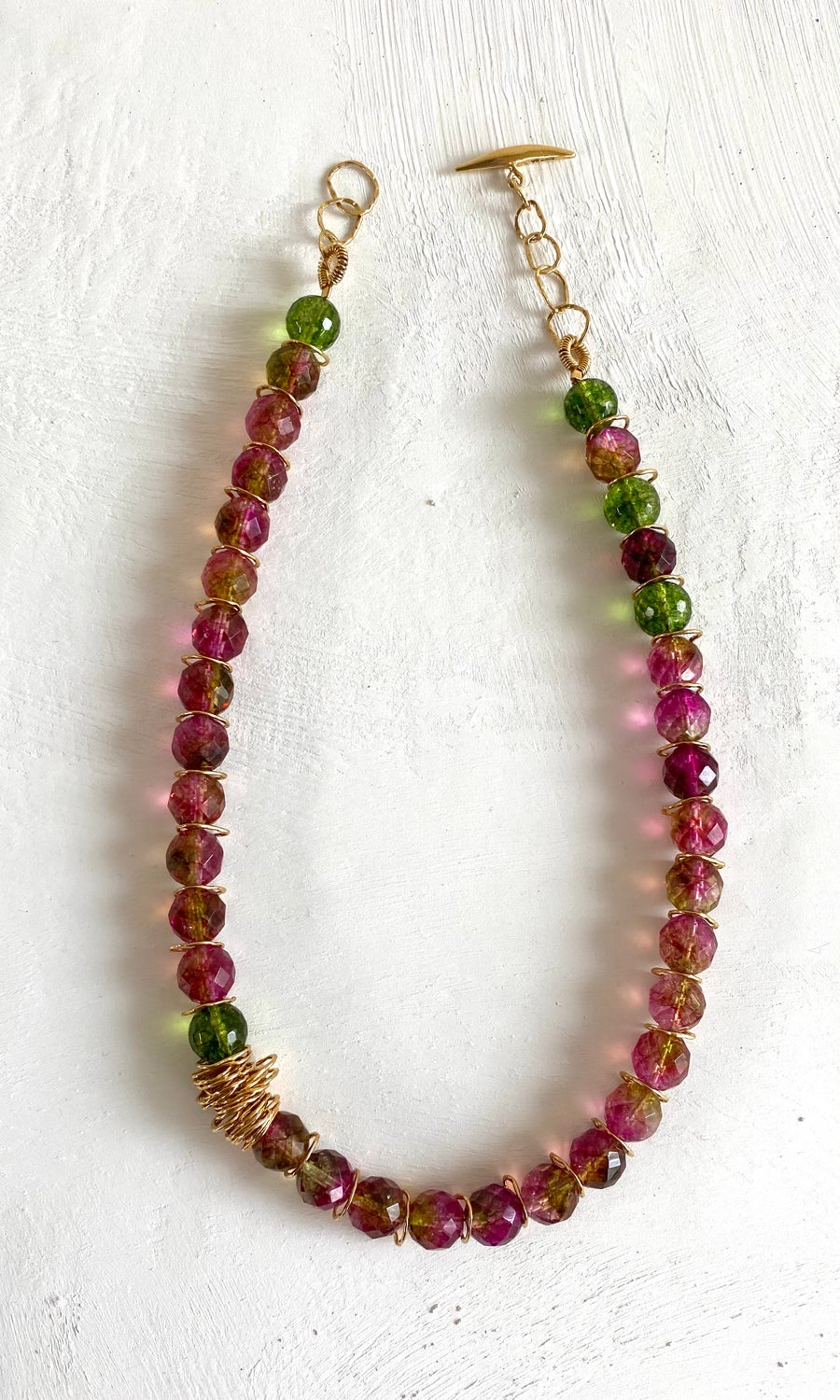 Image of Afiok Beaded Necklace #10