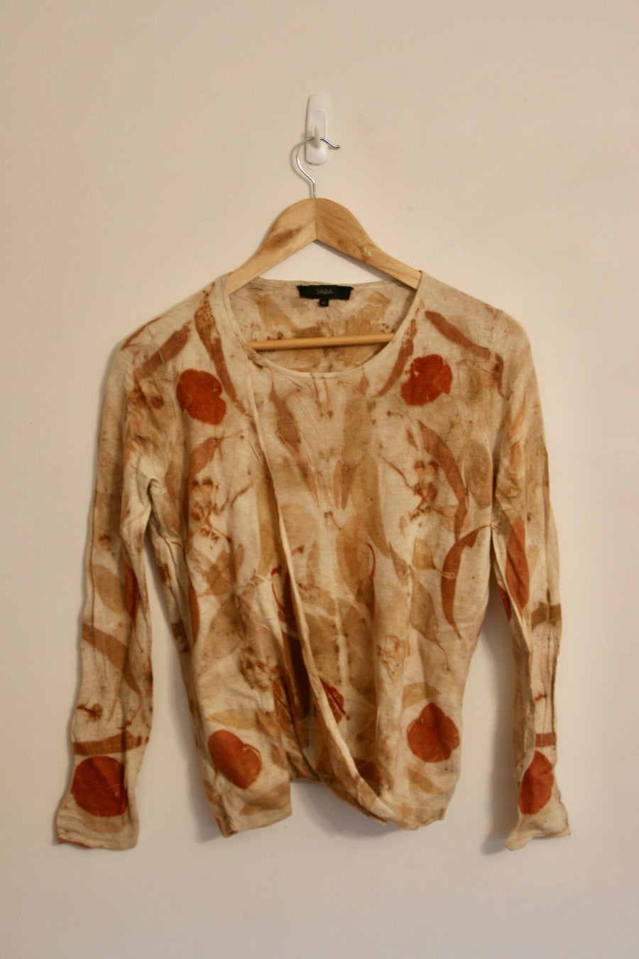 Image of Eco-Dyed Twist Top - Size S-M