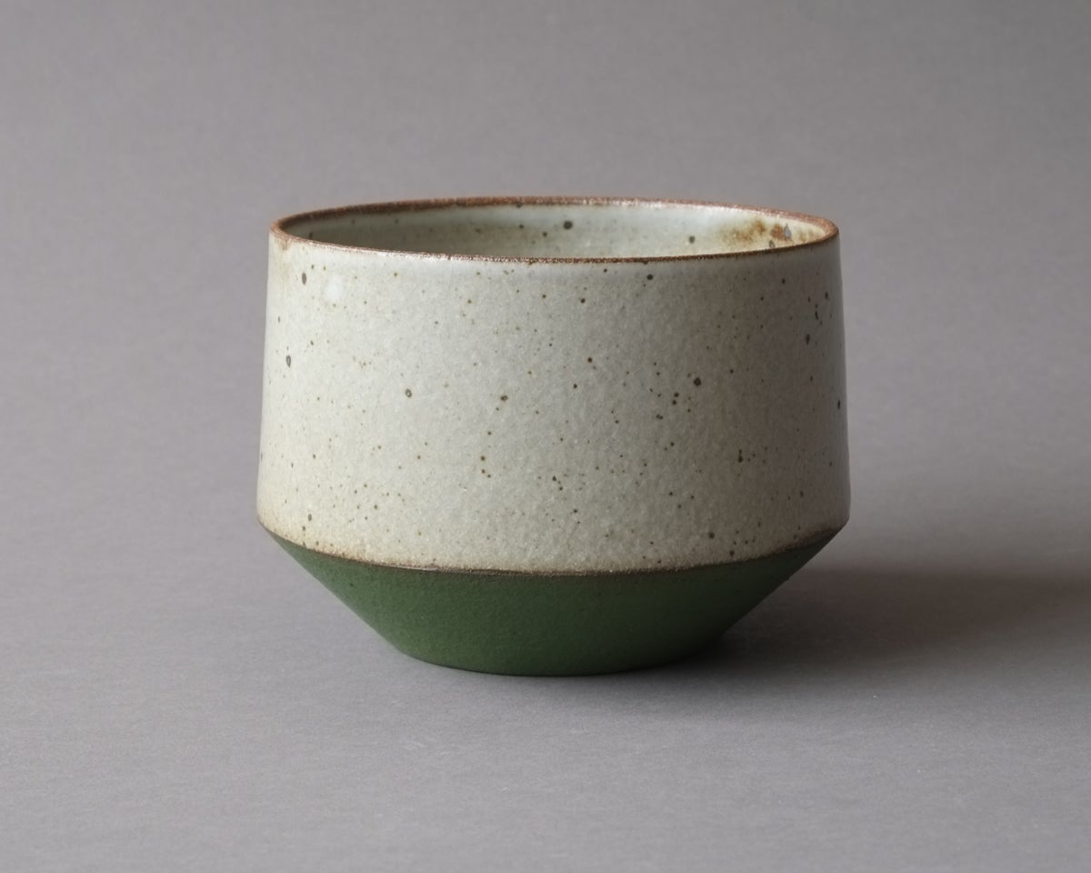 Image of Rock Planter - Small green