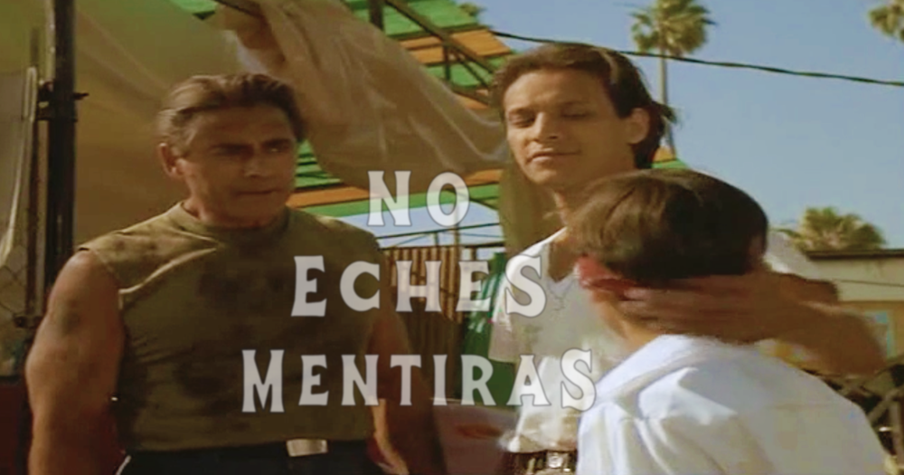 Image of NO ECHES MENTIRAS (DON'T LIE) BLACK TEE