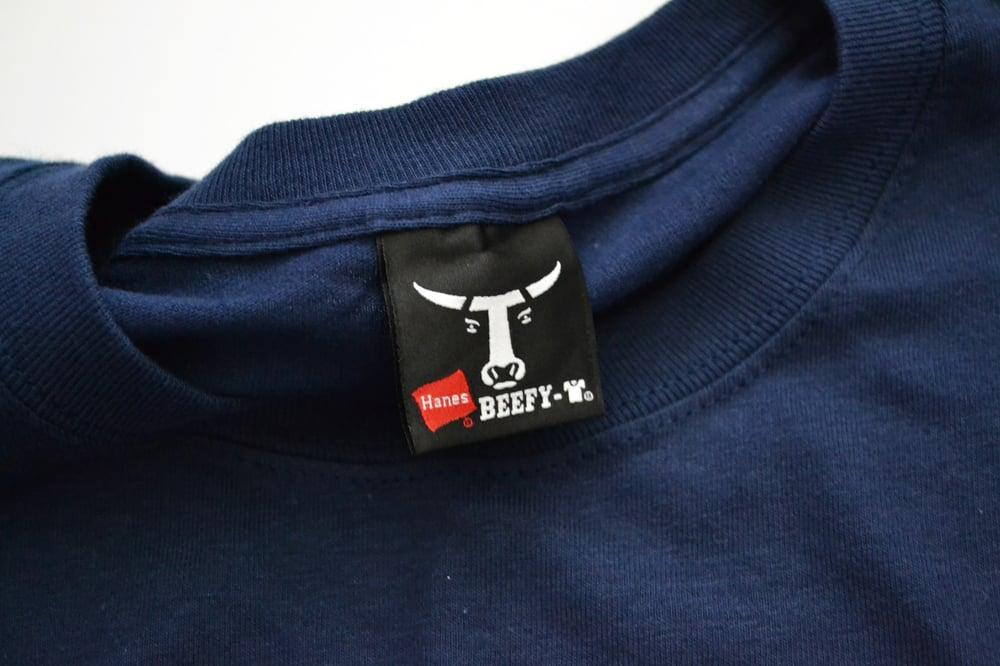 Image of Vintage 2000's DJ Logic New York Turntablist Spell Out T-Shirt Sz.L