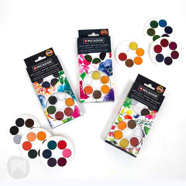 Image of Artists Watercolour Disc