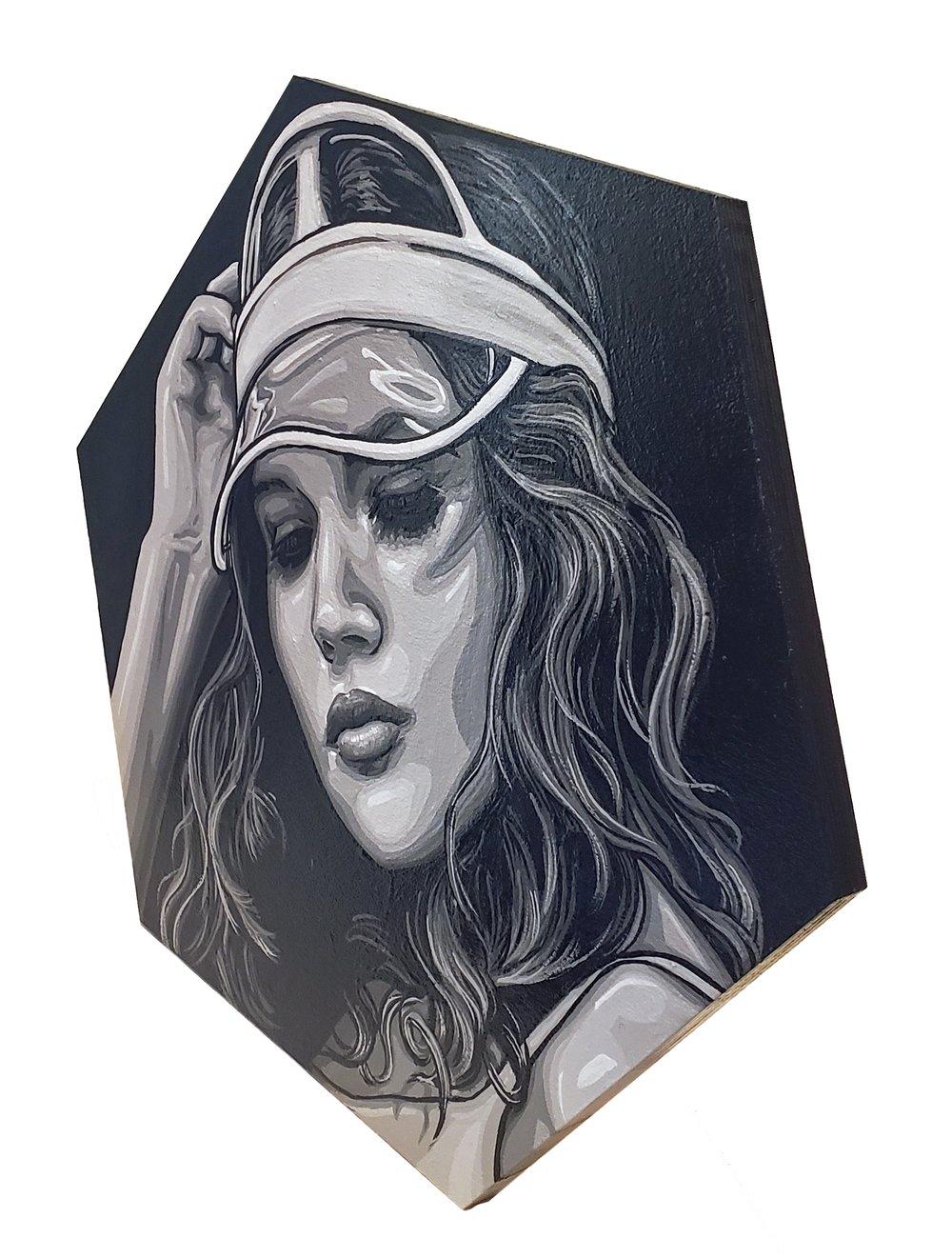 Extra Shady Edition: Visor - Original Painting