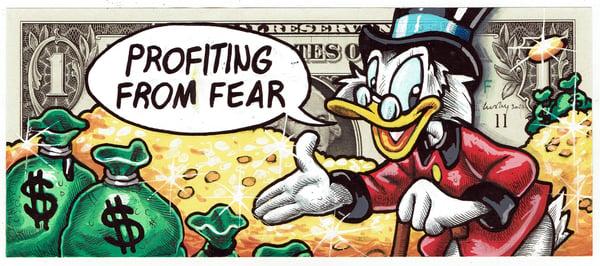 Image of Real Dollar Original. Fear Profiting.