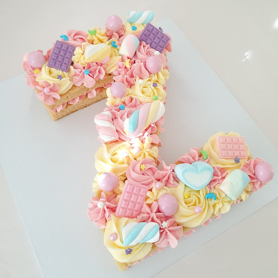 Image of Alphabet Cake Templates