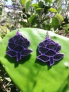 Cosmic Rose Earrings