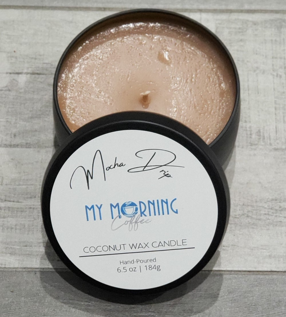 My Morning Coffee Candle
