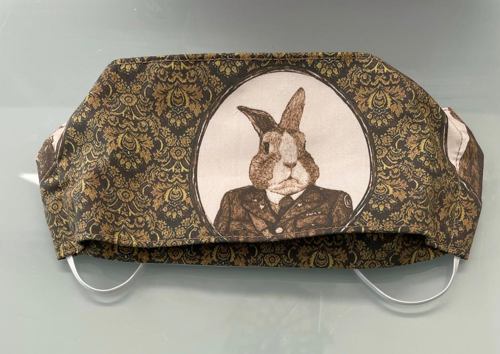 Image of Captain Bunny Face Mask