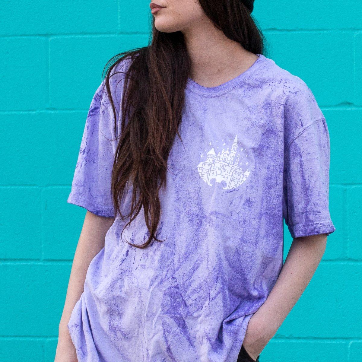 Image of Welcome Tee Purple Dye