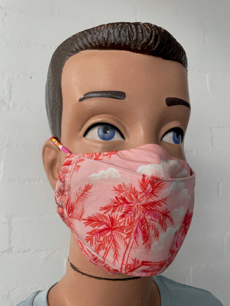 Image of Adventures In Paradise Face Mask