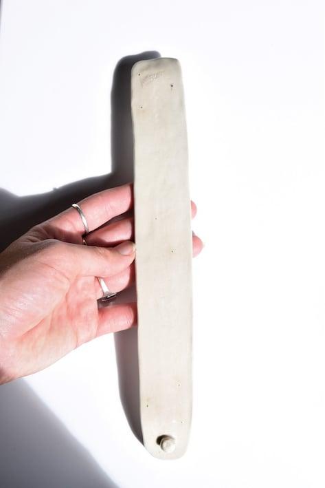 Image of Ceramic incense holder (Bone)