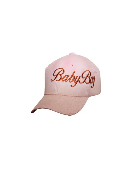 Image of Pink Stained BabyBoy Hat