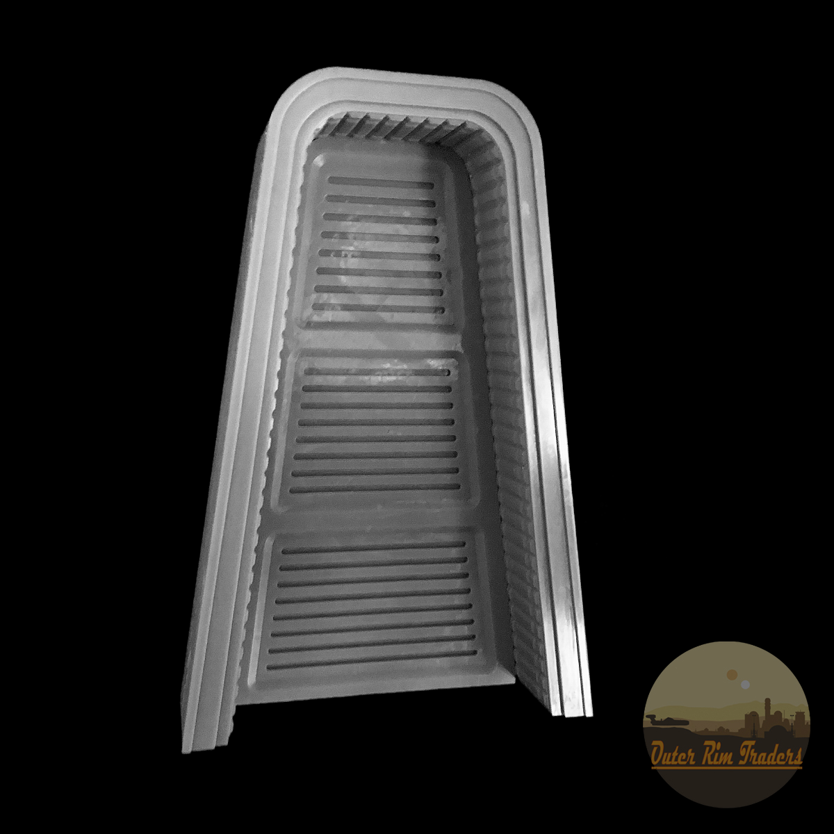 Image of Angled door with separate threshold modeled by Inprintcondition