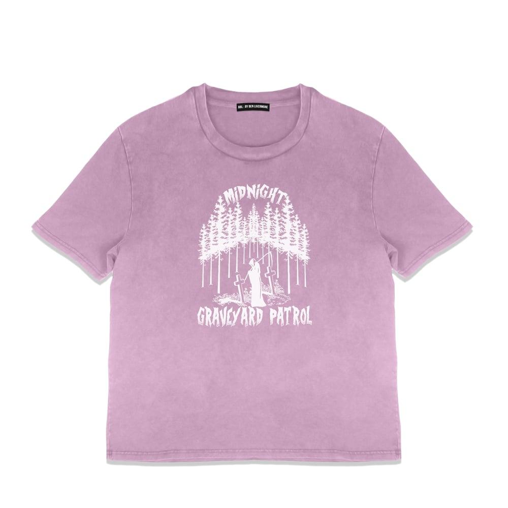 Image of Graveyard Patrol T-Shirt (Vintage Rose)