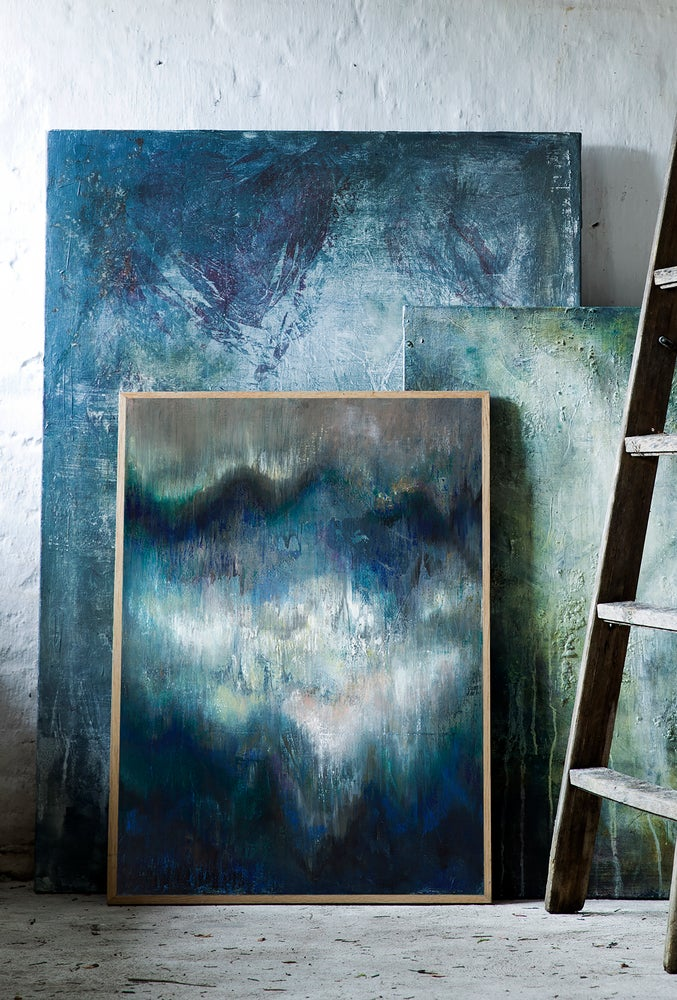 Image of Waves abstraction, Giclée Print