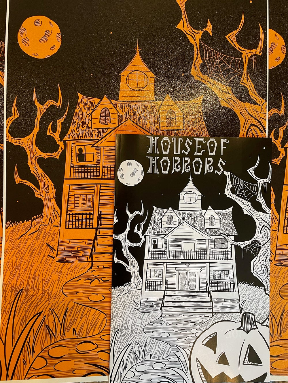 House of Horrors #1 (Poster Included!)