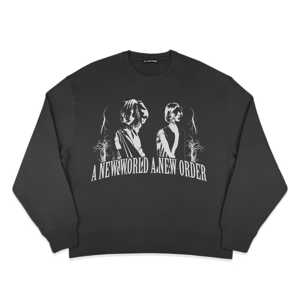 Image of A New World Order Sweatshirt (Black)