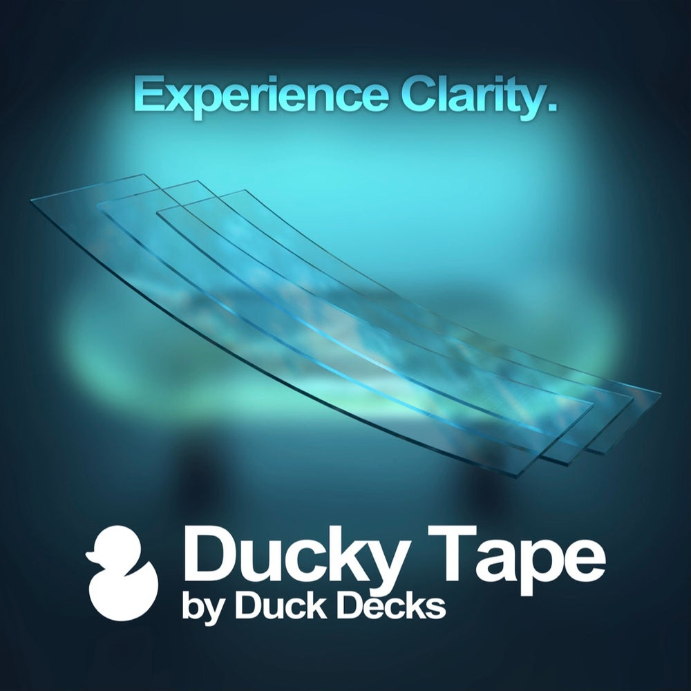 CLEAR DUCKY TAPE