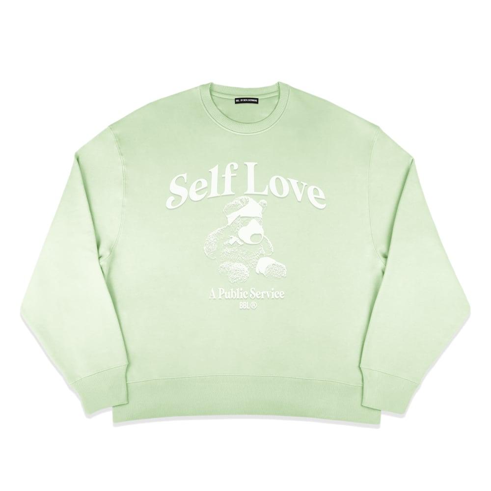 Image of Self Love Sweatshirt (Pastel Mint)