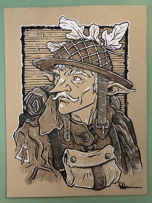 Image of Elven War Soldier