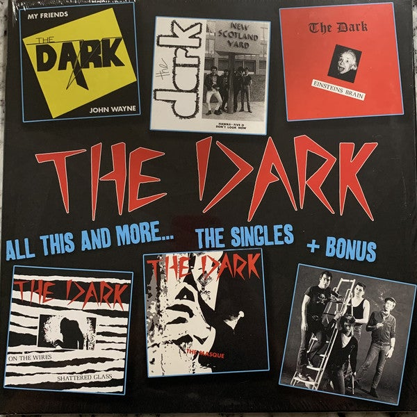 """the DARK - """"All This And More... The Singles +Bonus"""" LP"""