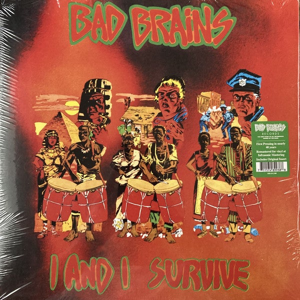 """BAD BRAINS - """"I And I Survive"""" 12"""" EP"""
