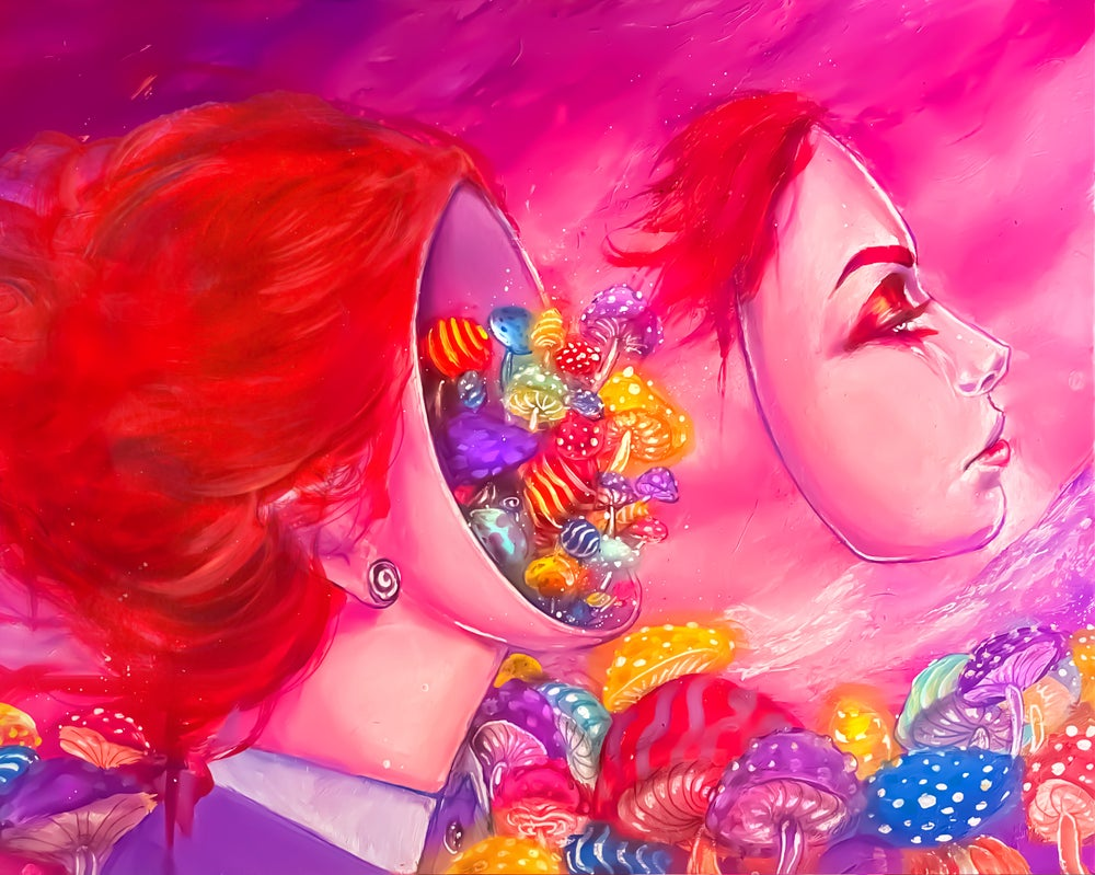 """Image of Holographic """"Daydreaming"""" Print"""