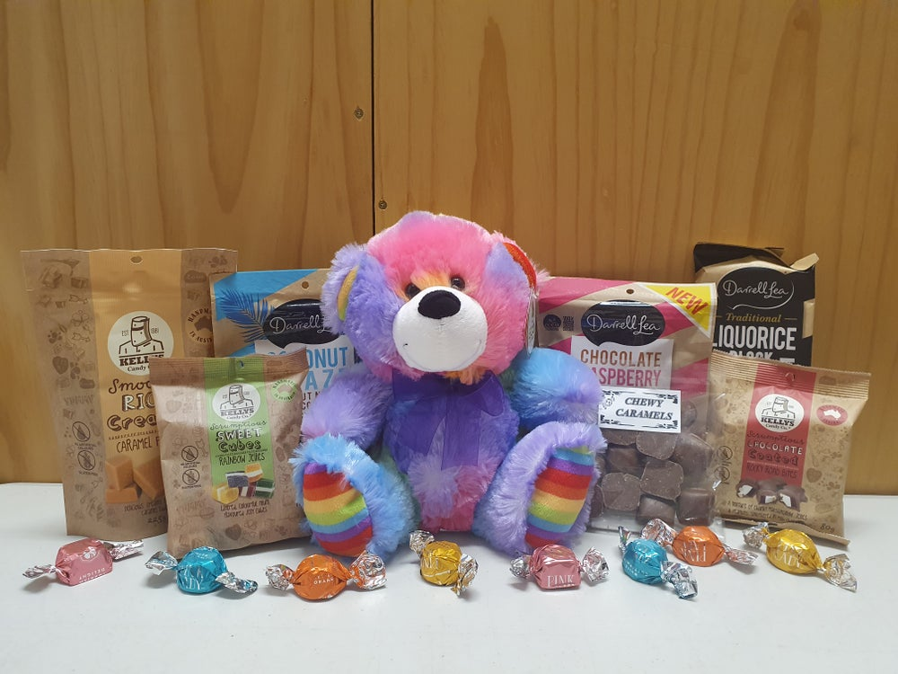 Image of Rainbow Bear Hamper