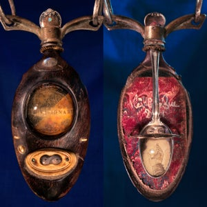 Image of  Double-sided neckpiece: THE VISIONARY.  2021