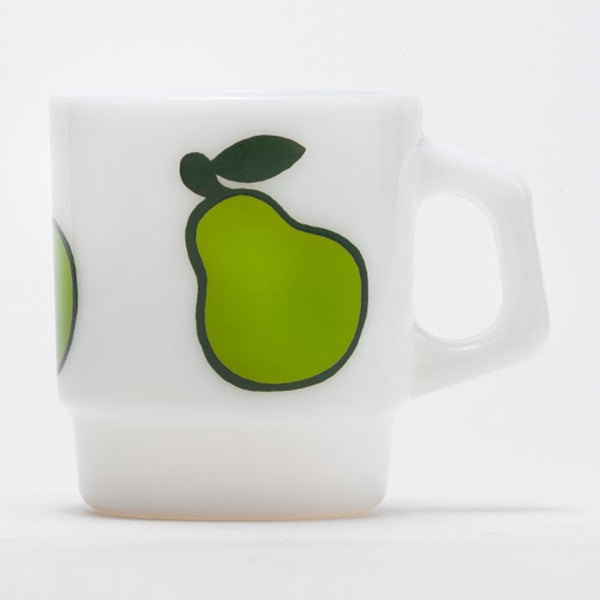Image of 6 x Fire King Stacking Mugs - Fruity Series